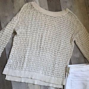 Woman's loft crochet sweater